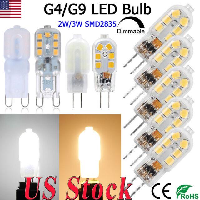 Ampoule Led G4 12v 20w.4 6 8 10 Pack G4 G9 Led Bulb Bi Pin Base For 20w Halogen Bulb Equivalent Lamp