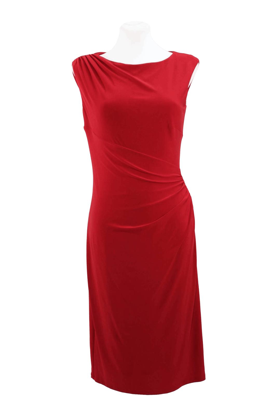 Vestido Ralph Lauren vestido las señoras vestido de Cóctel tamaño  32 (XXS) rojo  nuevo .  solo para ti