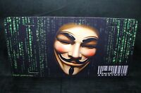 Guy Fawkes Metal License Plate Tag For Cars Anonymous V For Vendetta Occupy Usa