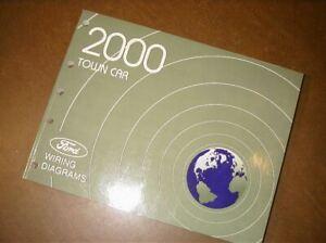 2000 Ford Lincoln Town Car Wiring Diagrams Manual | eBay