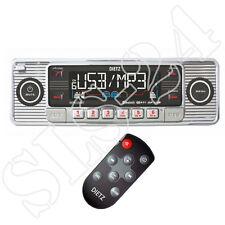 Retro Look Autoradio USB SD/MMC CD Player Design Oldtimer Radio Fernbedienung ch