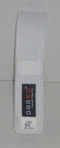 Judo Kendo//Hapkido Single Wrap Solid Belts 4 cm Wide for Karate Taekwondo
