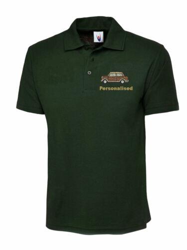 Brand New Riley Elf Wolseley Hornet Embroidered Polo Shirt Unisex Classic Mini