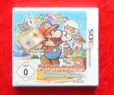 Paper Mario Sticker Star, 3D Nintendo 3DS Spiel, Neu, deutsche Version