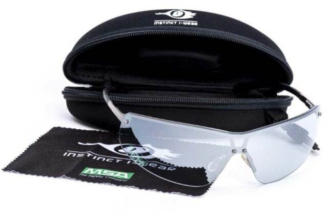 fe593fb65f MSA Premium Safety Sports Glasses ANTI FOG+SCRATCH+IMPACT Sunglasses RRV 90