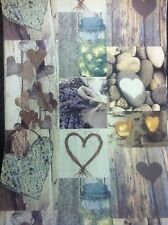 Arthouse Novelty Rustic Hearts Natural 669600