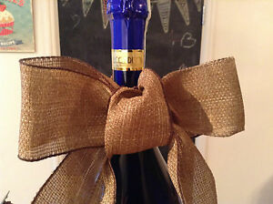 """Wire Edged Ribbon De Hesse Jute """"style"""" 2 Mètres Artisanat Floral Papier Cadeau-afficher Le Titre D'origine Bonne RéPutation Sur Le Monde"""