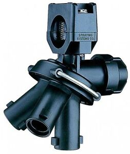 """Quick TeeJet 24216A-1-NYB Triple Nozzle Body for Wet Booms - For 1"""" Pipe"""