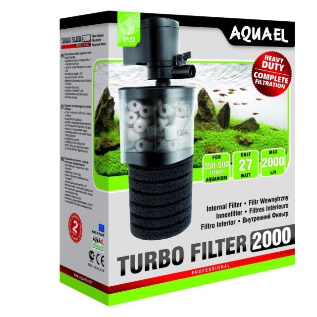 Aquael Innenfilter TURBO FILTER 2000 - Aquarienfilter Durchlüfter Turbofilter