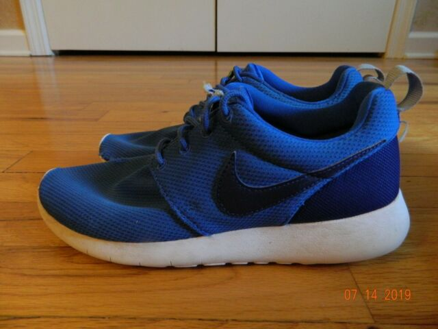 special section sale usa online the best attitude Nike Roshe One Print GS Kids 677782-006 Grey Blue Rosherun Shoes ...