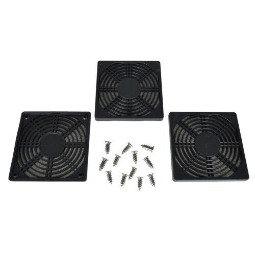 3 Dustproof 120mm Case Fan Dust Filter for PC Computer L5B4