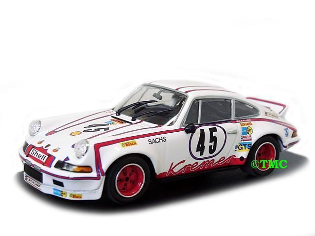Porsche 911 Carrera RSR 2.8  45 24 H LeMans 1973 MINICHAMPS 1 43