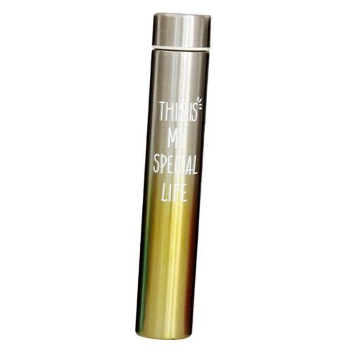 260ml Trinkflasche Edelstahl Wasserflasche Thermosflasche für Zuhause,