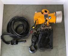 Ingersoll Rand Lc2a030dip2c4m5a0z Pneumatic Air Chain Hoist 3 Ton 14 Ft Chain