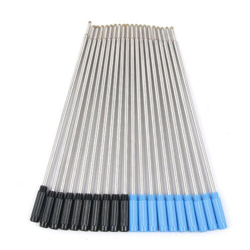 Kugelschreiberminen Ersatzmine Schraub-Minen dünne Spitze 0,7mm Schwarz Blau
