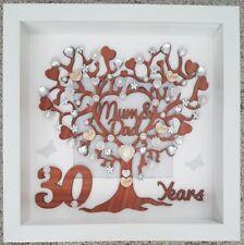 Item 4 Personalised Handmade 30th Pearl Wedding Anniversary Gift Frame Mum And Dad
