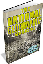 NATIONAL GEOGRAPHIC MAGAZINE ON DVD - 1888 to 1922 - history, geography, culture