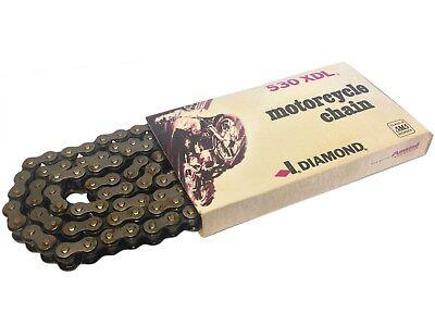 DIAMOND #530 x 104 Links Motorcycle Chain 530-104 ATV UTV CUV OFF ROAD GO KART