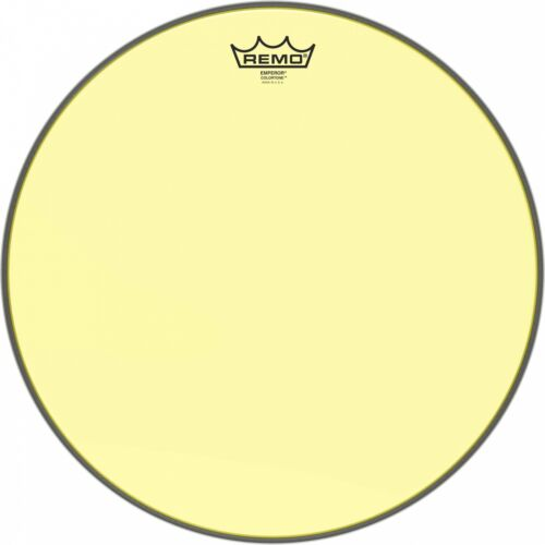"Remo 14/"" Emperor Colortone Yellow Drum Head BE-0314-CT-YE"