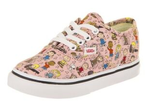 d2805a7ede7a Image is loading NEW-NIB-Vans-Toddlers-Girls-Peanuts-Dance-Party-