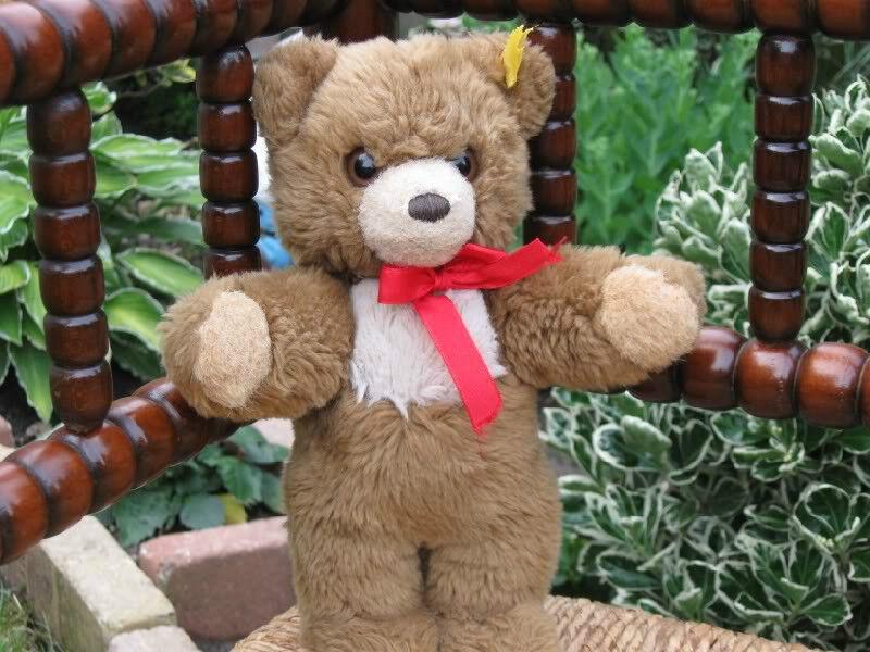 Steiff Steiff Steiff Cosy Teddy 018657 rot Bow 19efce