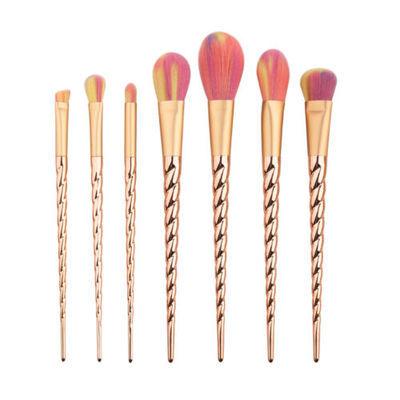 5/7/10 x Unicorn Face Eyeliner Brush Thread Cosmetic Make Up Flat Brushes Tools