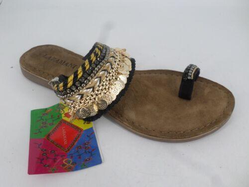 05 Uk Beaded Ring 39 Sandals 6 Al Toe Lazamani Eu Ln085 nZIBxRvqw