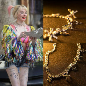 Harley Quinn Birds Of Prey Necklace Cosplay Costume Prop Joker Jewelry Xmas Gift Ebay