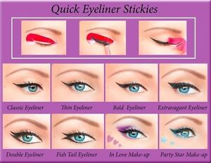 ORIGINAL-80pcs-Quick-Eyeliner-Stickies-Stencils-Perfect-Eye-Makeup-Tool-UK1