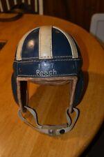 Reach Leather Football Helmet