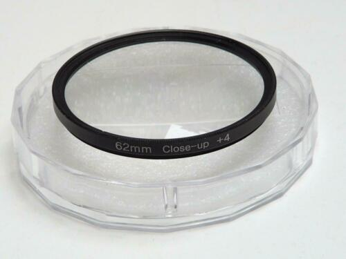 62mm Close-Up 4 Cámara De Efectos Especiales Lente Filtro