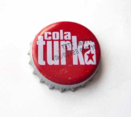 COLA TURKA Soda Bottle Cap Crown TURKEY  RARE 2019 Metal Asia Collect