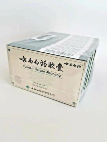 (10 PACKS) Yunnan YNBY baiyao Capsules 16cap/pack Free shipping US seller