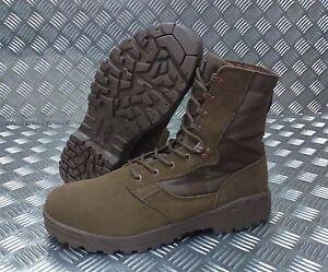 Genuine British Army BROWN Magnum Scorpion Desert Patrol Assault Boots - NEW