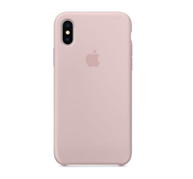 PINK SAND GENUINE ORIGINAL iPhone X Silicone Case RETAIL BOX NEW