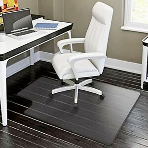 48 X36 Plastic Floor Mat Clear Protector Office Chair Rug Carpet C