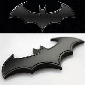 Chrom Metall Auto Motorrad Aufkleber Batman 3d Bat Flügel
