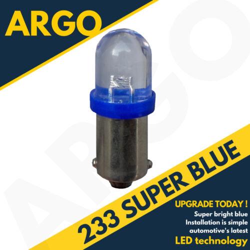 233 T4w Ba9s T11 Mcc Rw233 Super Led Xenon Ice Cool Blue Hid Sidelight Bulbs 12v