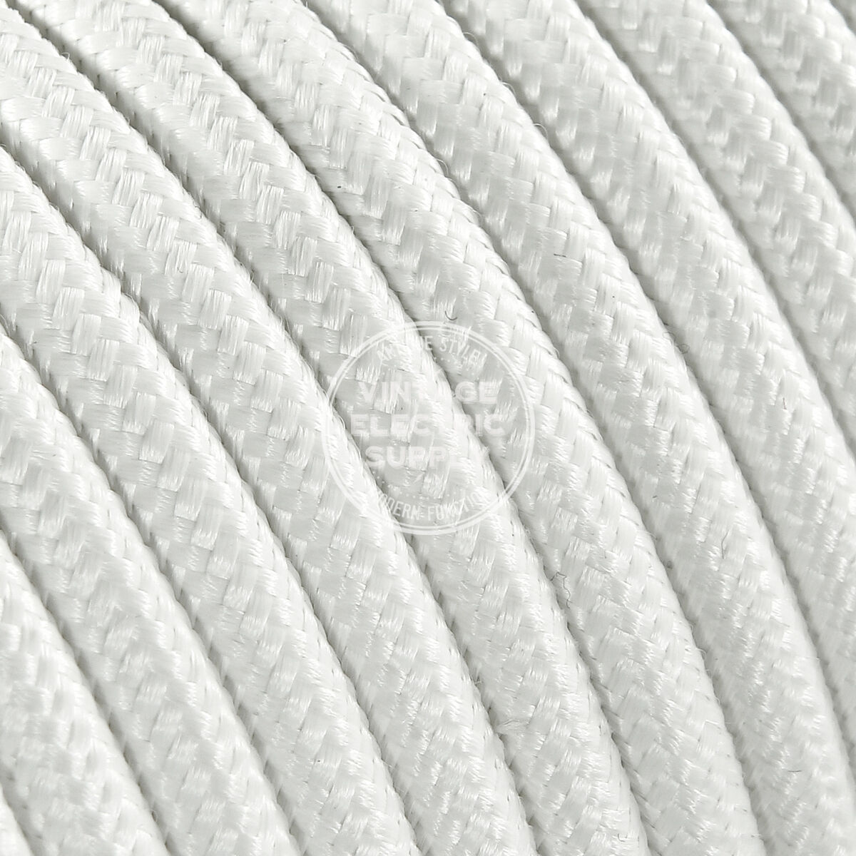 White Round Cloth Covered Electrical Wire - Braided Rayon Fabric Wire  sc 1 st  Goods-any.top : lighting parts and accessories - www.canuckmediamonitor.org
