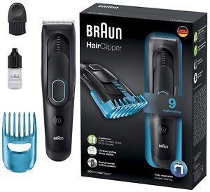 Braun-HC5010-Negro-Recargable-Cortadora-de-Cabello-en-9-ajustes-Inalambrico-Nuevo