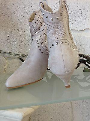 Damen Stiefel Stiefelette Sommer Neu Flyfor Beige Gr.35-40 Schuhe B9770
