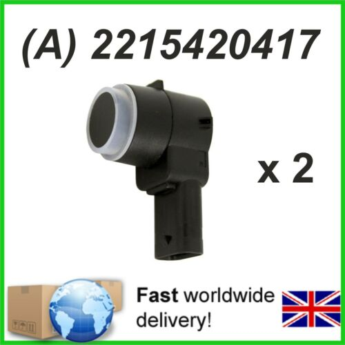 2 X Parking Sensor PDC  MERCEDES Sprinter 3t 3.5t 4.6t 5t A2215420417