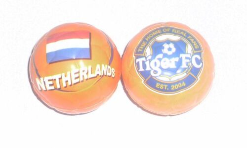 TIGER BEER Mini Football STRESS Ball HOLLAND NETHERLANDS Rubber Spongy Malaysia