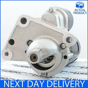 fits peugeot 1007 107 206 207 208 307 1 4 hdi diesel models new starter motor ebay. Black Bedroom Furniture Sets. Home Design Ideas