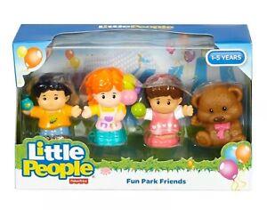 Fisher-Price-Little-People-Divertente-PARCO-amici-4-Figure-Set-Pre-Scuola-Nuovo-9