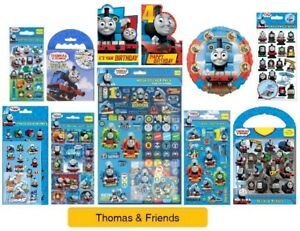 THOMAS-amp-FRIENDS-Colouring-Stickers-Activity-Packs-Pads-Card-Party-Gift-Xmas