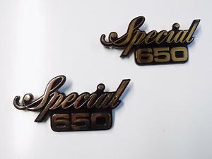 Seitendeckel-Emblem-Yamaha-XS-650-paar
