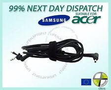 DC Spina con Caricabatterie Corda Cavo per Samsung 5 9 Serie 13.3 Ultrabook