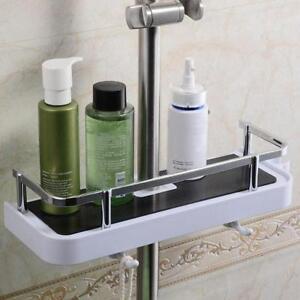 Badezimmer-Regal-Lagerregal-Halter-Shampoo-Badetuch-Fach-Regale-Halter-W6M0