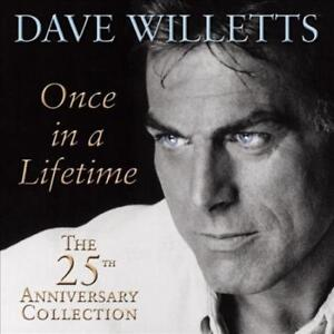 DAVE-WILLETTS-ONCE-IN-A-LIFETIME-THE-25TH-ANNIVERSARY-COLLECTION-NEW-CD